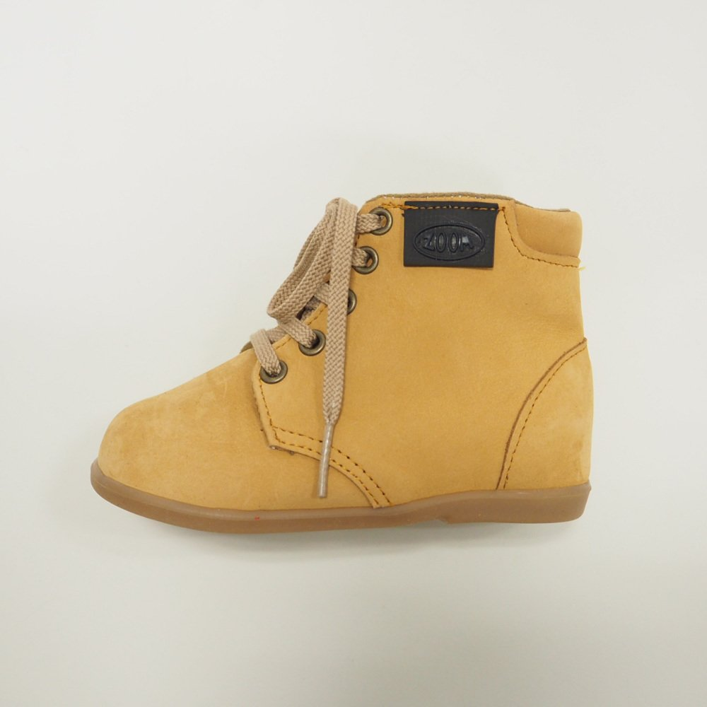 【SALE 30%OFF】Lace up Boots CAMEL img2