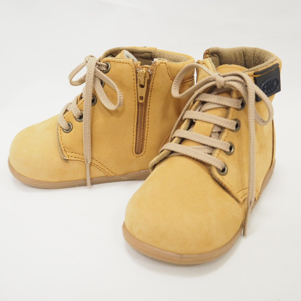 【WINTER SALE 50%OFF】Lace up Boots CAMEL img4