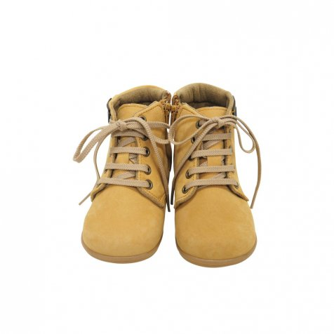 【50%OFF】Lace up Boots CAMEL