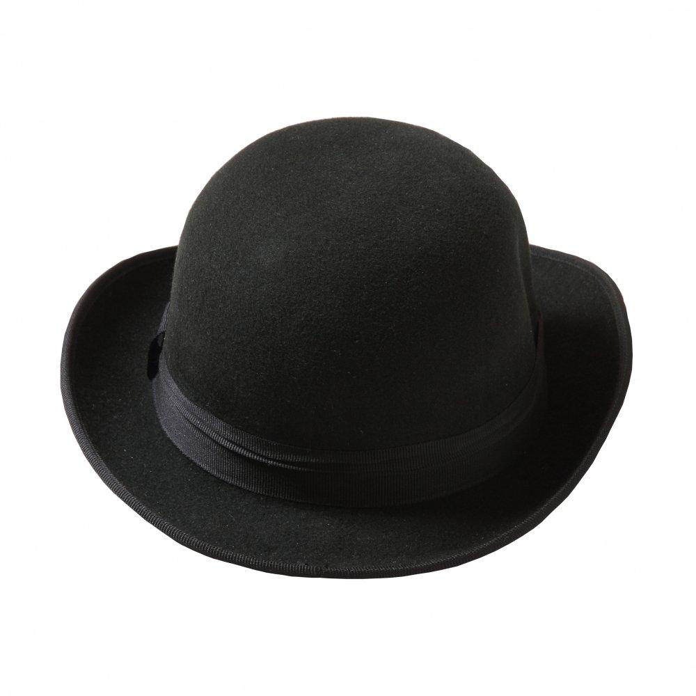 【WINTER SALE 50%OFF】Bowler Hat black img2