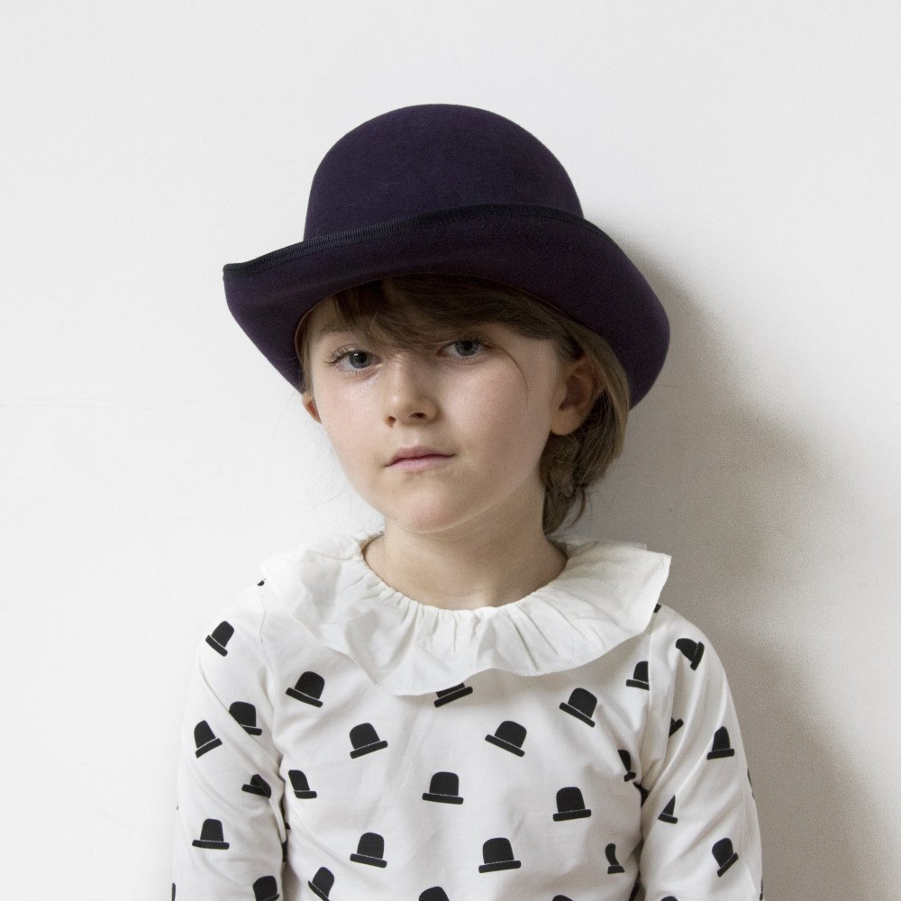 【WINTER SALE 50%OFF】Bowler Hat black img3