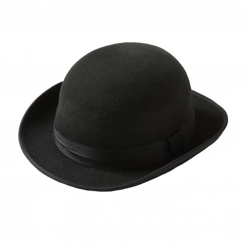 【WINTER SALE 50%OFF】Bowler Hat black