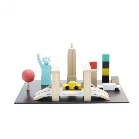 machi NY 自分だけのまちづくりができるおもちゃ ニューヨーク版
