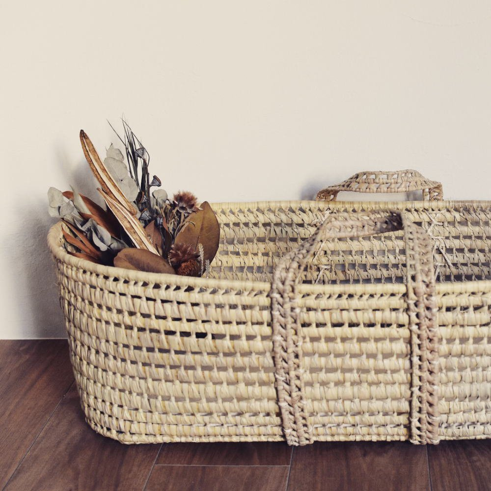 【追加販売】moses basket + mattress img6