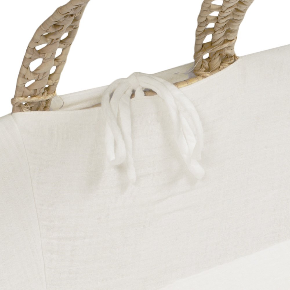 moses basket + mattress + bed linen Natural img4