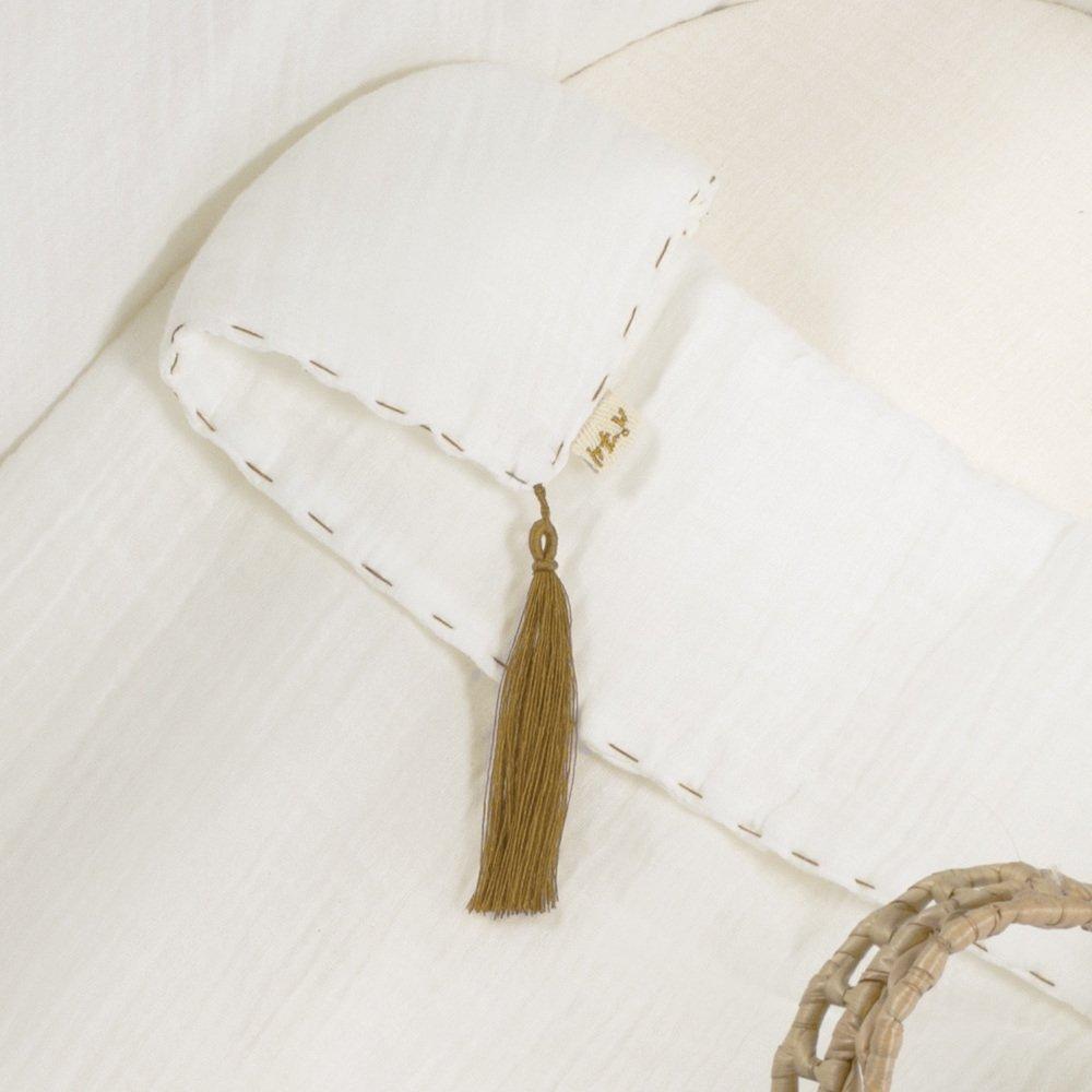moses basket + mattress + bed linen Natural img5