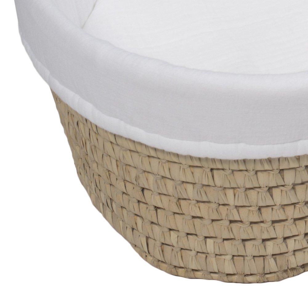 moses basket + mattress + bed linen Natural img7