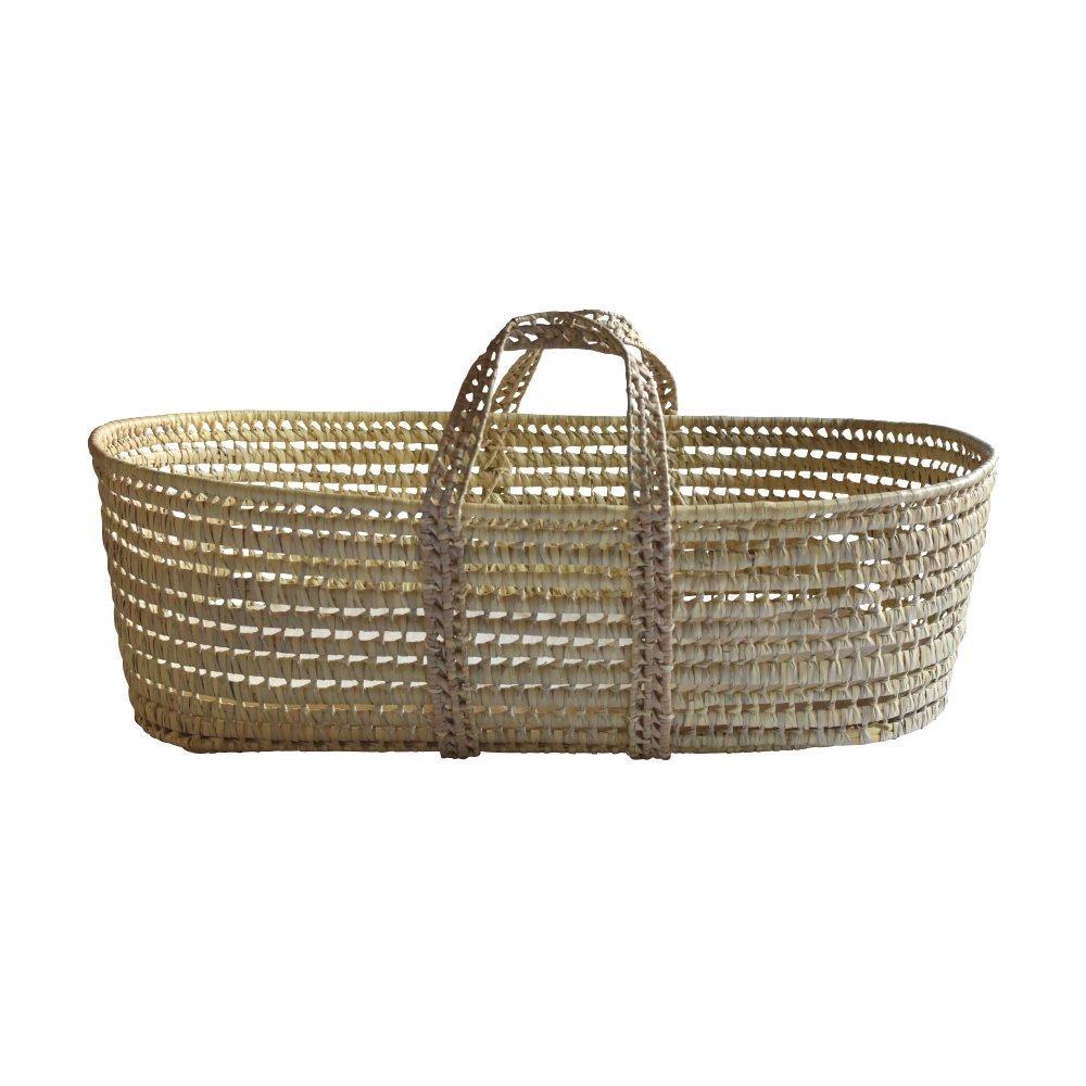 moses basket + mattress + bed linen Natural img8