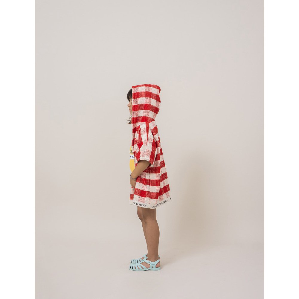 【SALE 30%OFF】2018SS No.118296/118293 Red Vichy Poncho img5