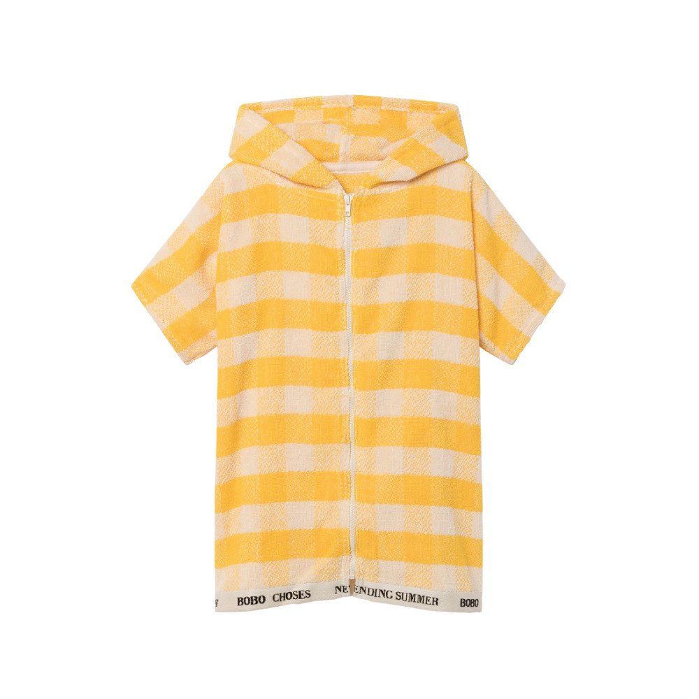 【WINTER SALE 40%OFF】2018SS No.118297/118294 Yellow Vichy Poncho img