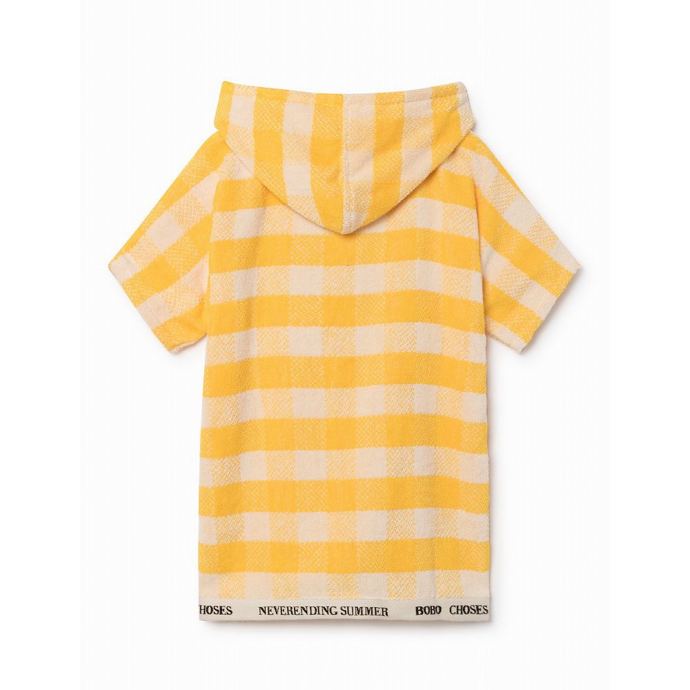 【WINTER SALE 40%OFF】2018SS No.118297/118294 Yellow Vichy Poncho img2