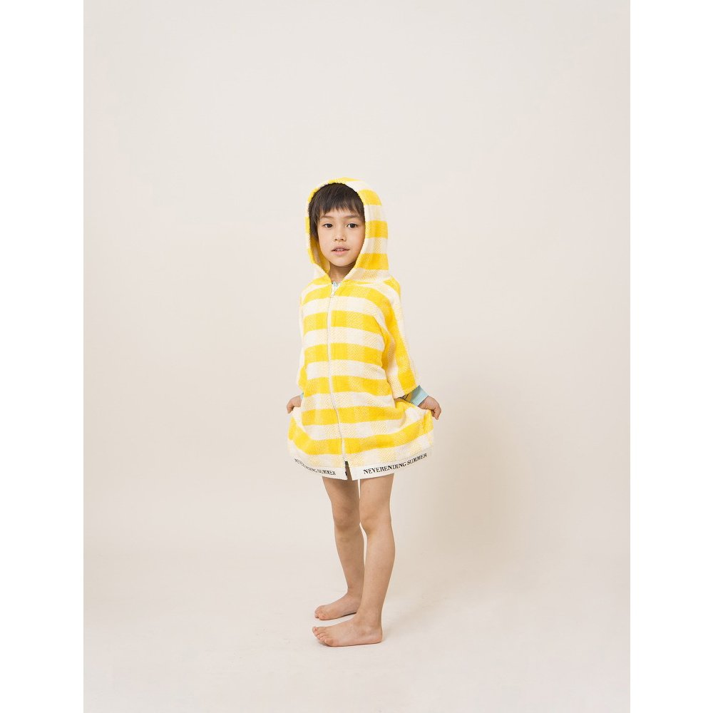 【WINTER SALE 40%OFF】2018SS No.118297/118294 Yellow Vichy Poncho img3
