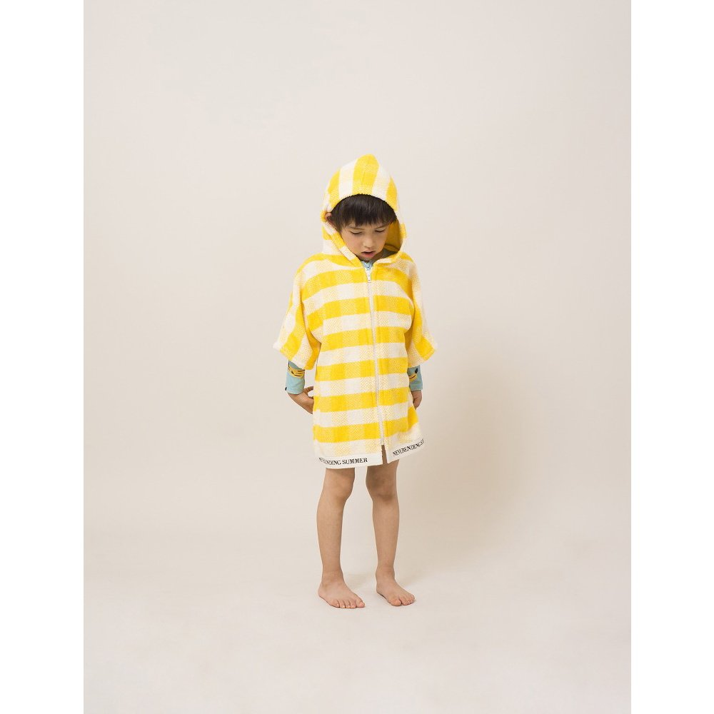 【WINTER SALE 40%OFF】2018SS No.118297/118294 Yellow Vichy Poncho img4