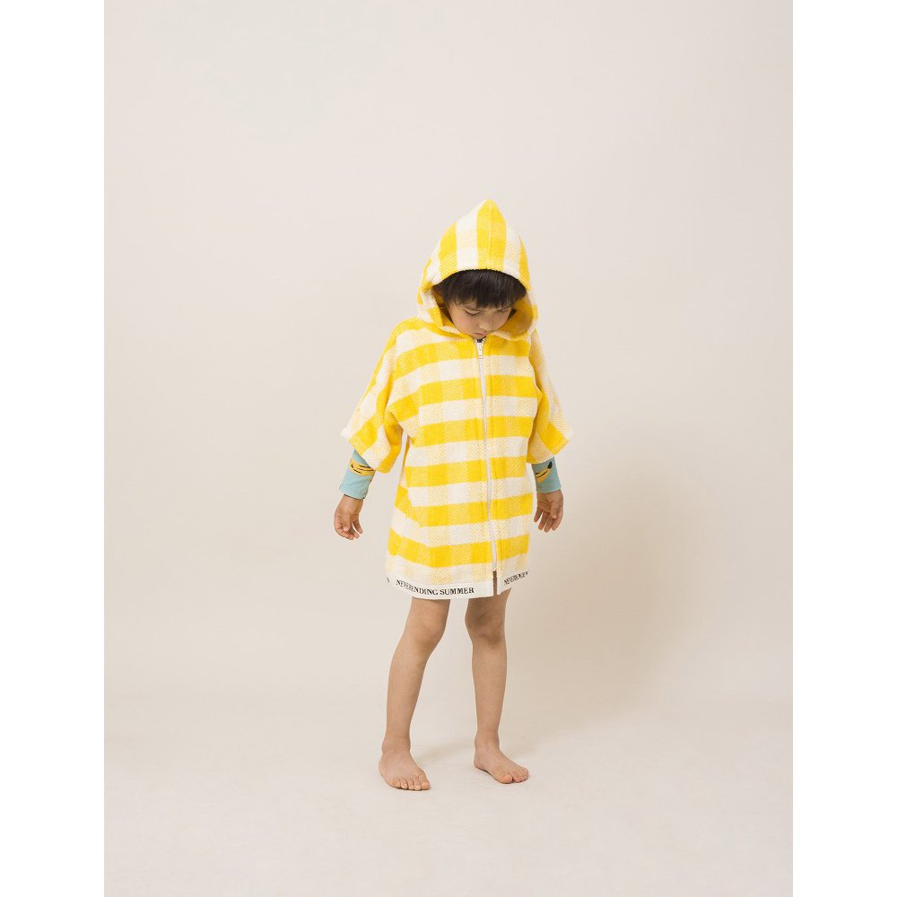【WINTER SALE 40%OFF】2018SS No.118297/118294 Yellow Vichy Poncho img6