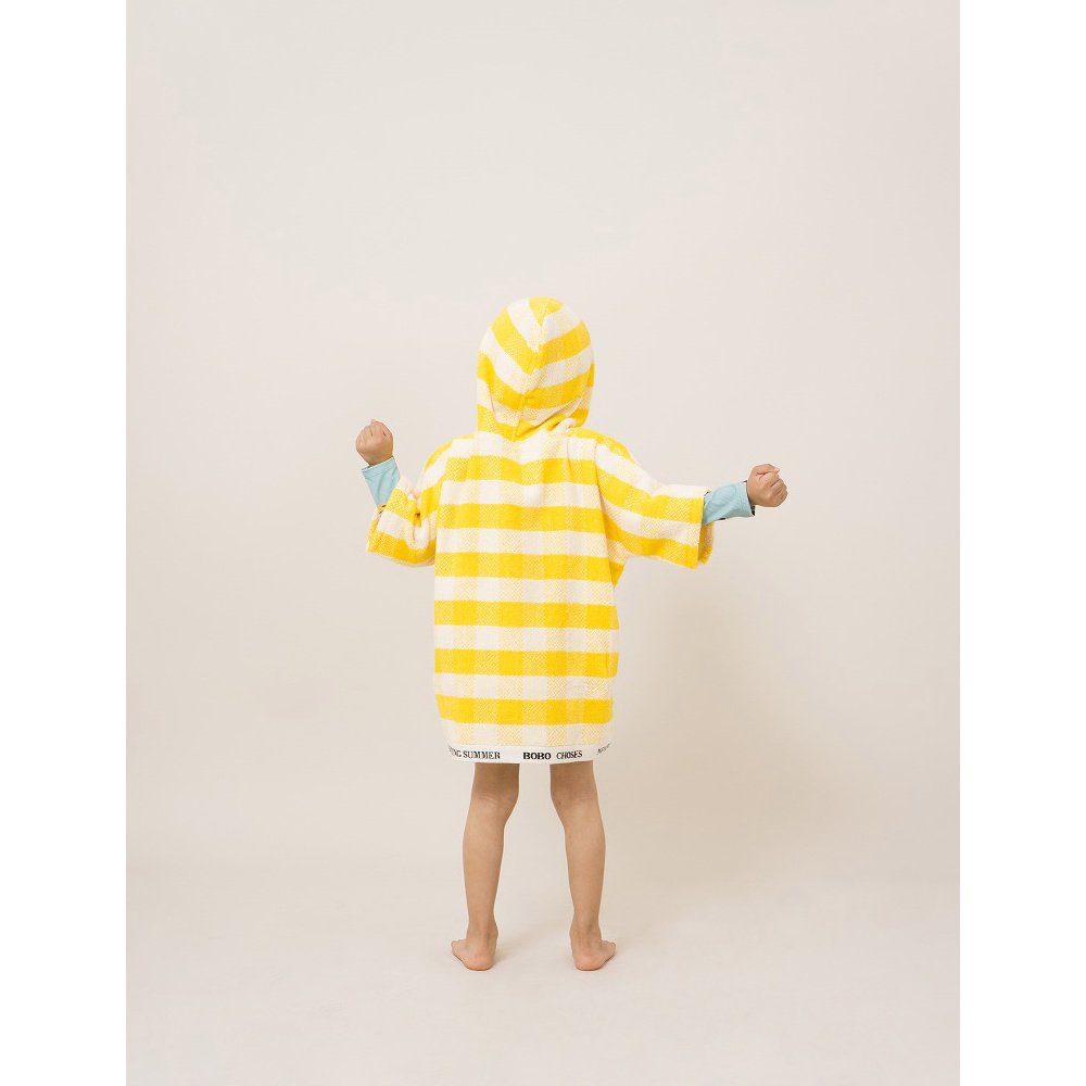 【WINTER SALE 40%OFF】2018SS No.118297/118294 Yellow Vichy Poncho img7