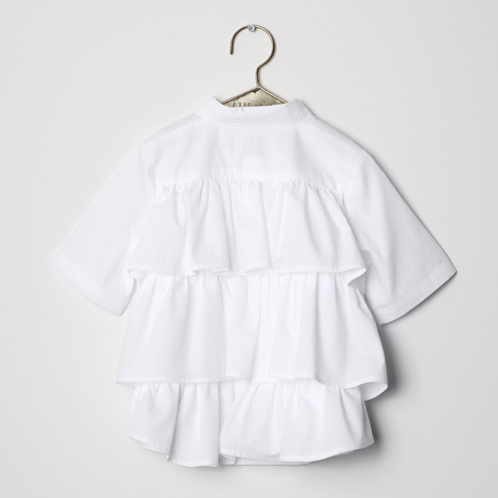 DINA Blouse WHITE img2