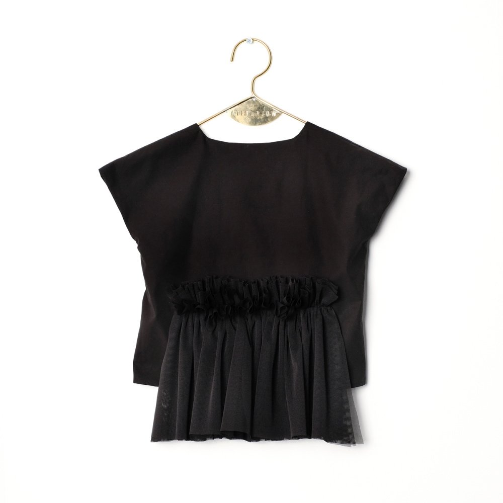 【SALE 30%OFF】CANDIDA Blouse BLACK img2