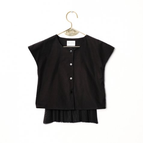 【SUMMER SALE 50%OFF】CANDIDA Blouse BLACK