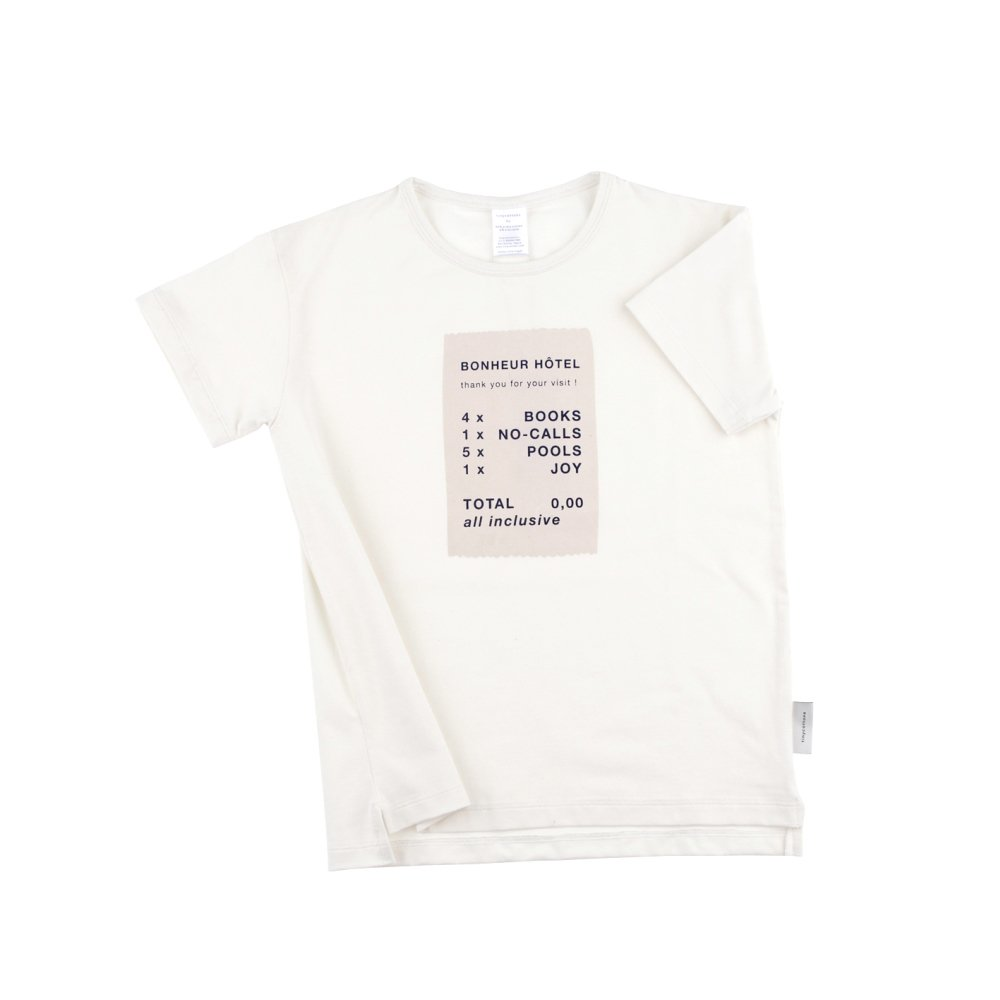 【SALE 30%OFF】No.110 ticket SS relaxed graphic tee img