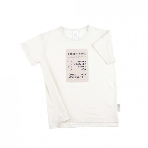 No.110 ticket SS relaxed graphic tee