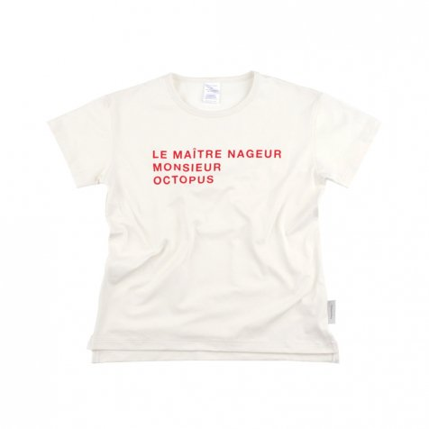 No.115 le maitre nageur SS relaxed graphic tee