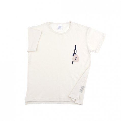 No.116 keys room no.7 SS relaxed graphic tee