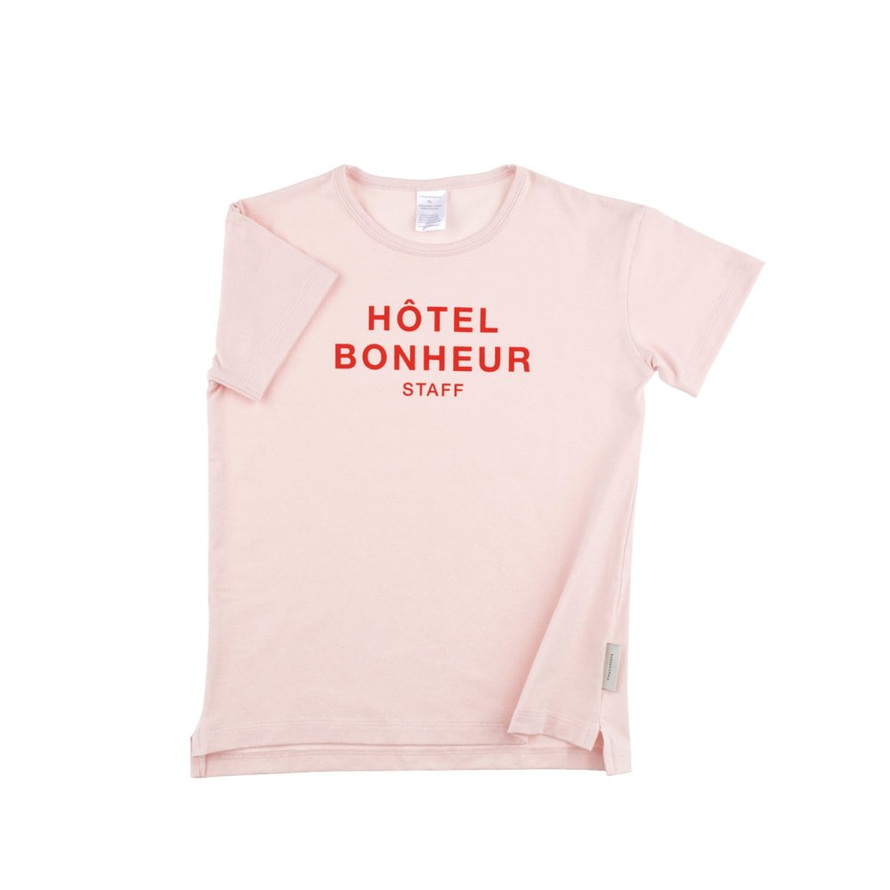 【SALE 30%OFF】No.118 big hotel bonheur staff SS relaxed graphic tee img