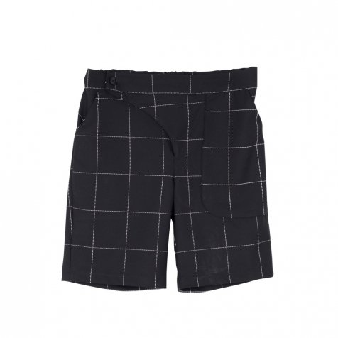 【SALE 30%OFF】POCKET PANTS Black & White Grid