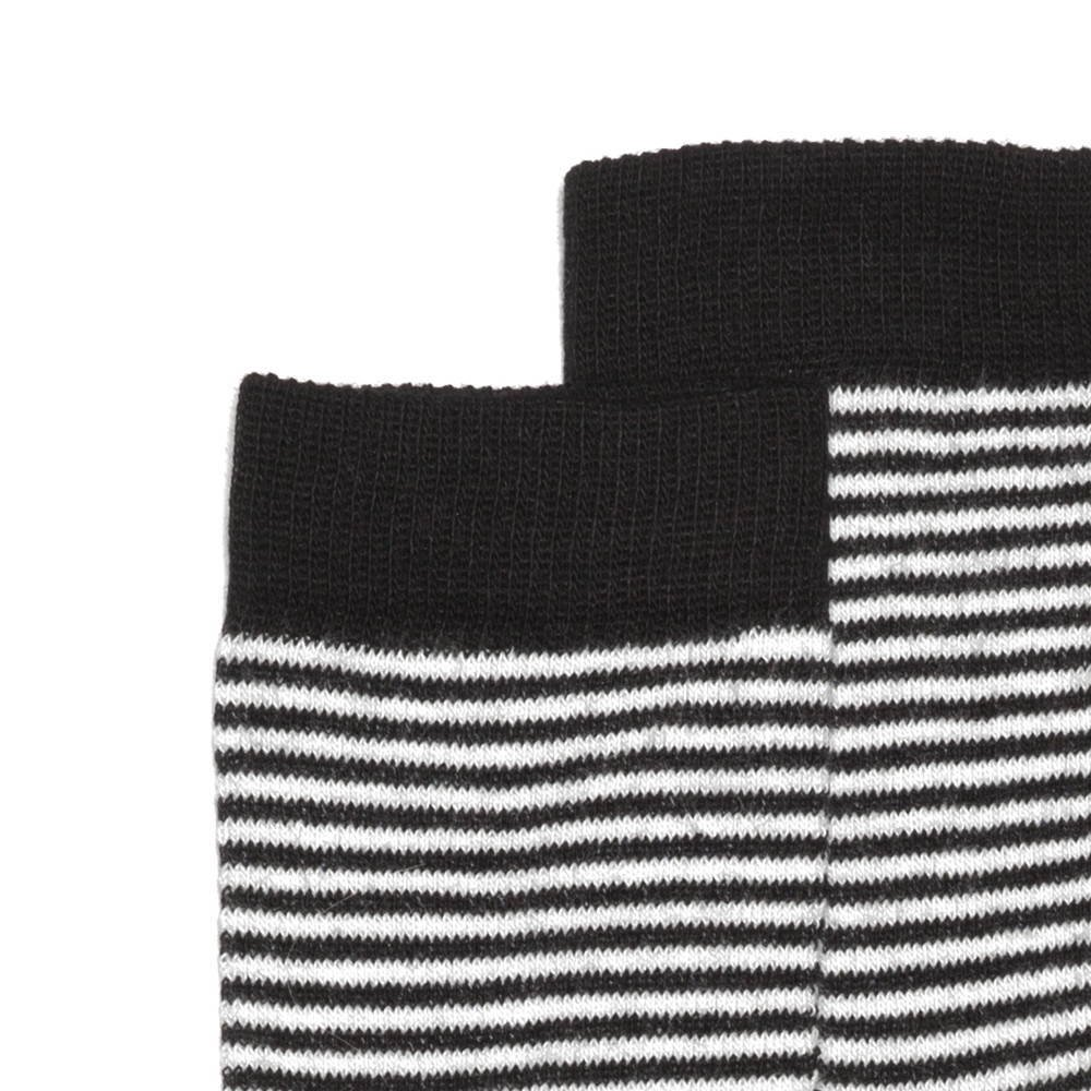 【WINTER SALE 40%OFF】Sock b/w striped img1