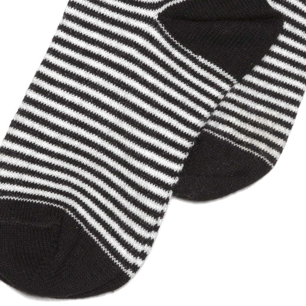 【WINTER SALE 40%OFF】Sock b/w striped img2