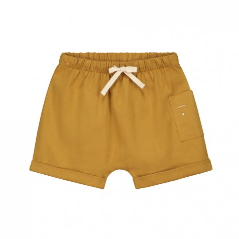 1 Pocket Shorts Mustard