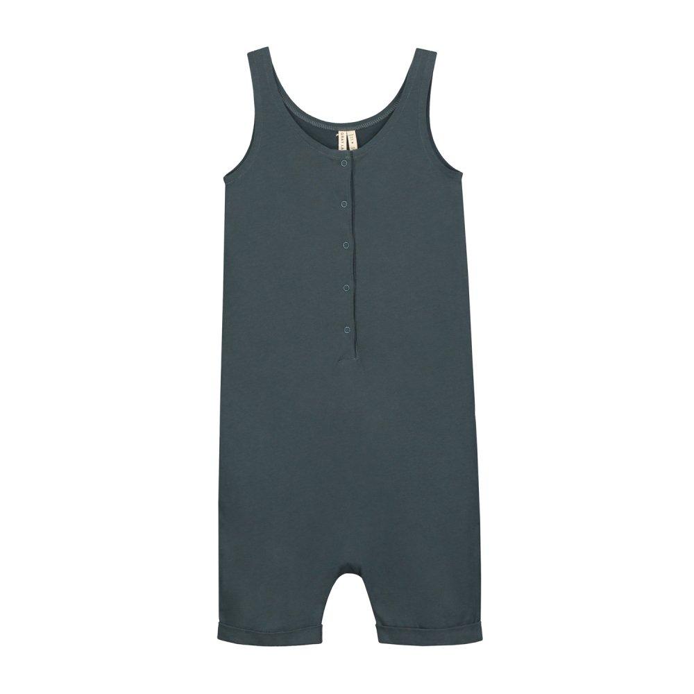 【SALE 30%OFF】Tank Suit Blue Grey img