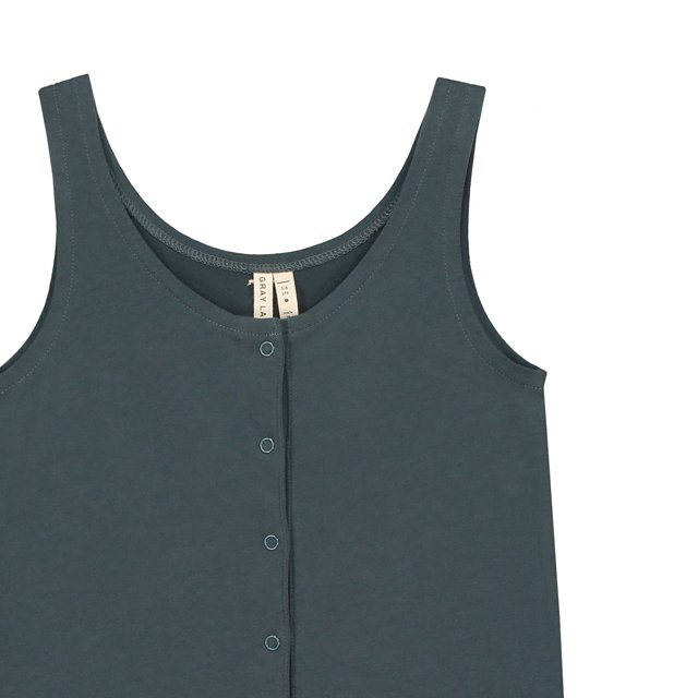 【SALE 30%OFF】Tank Suit Blue Grey img1