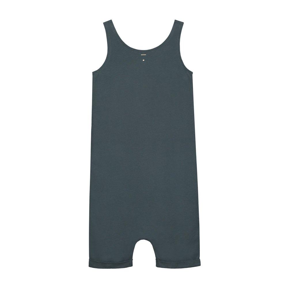 【SALE 30%OFF】Tank Suit Blue Grey img3