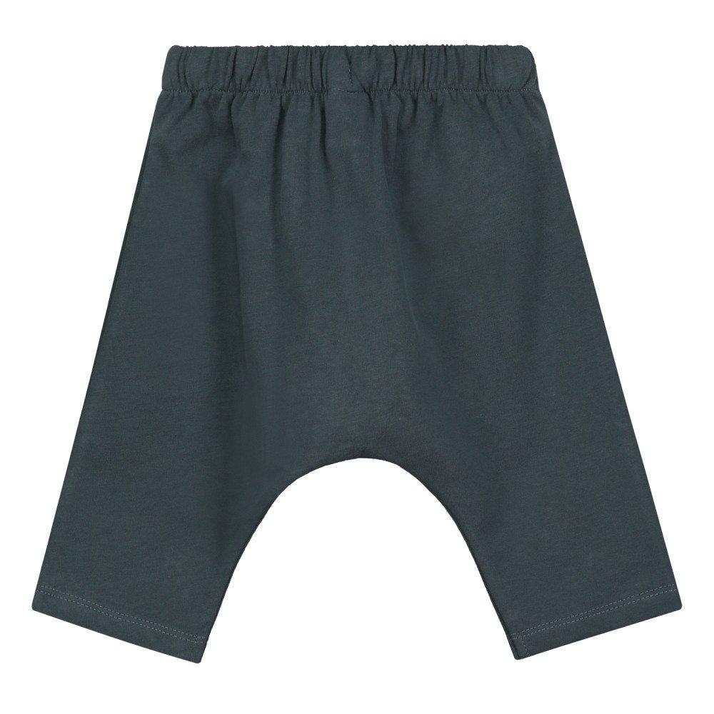 【SALE 30%OFF】Baby Harem Pants Blue Grey img3