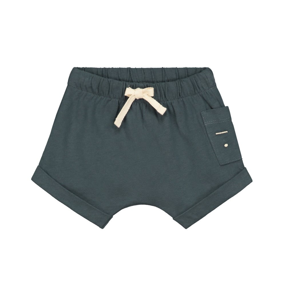 【SALE 30%OFF】Baby Shorts Blue Grey img