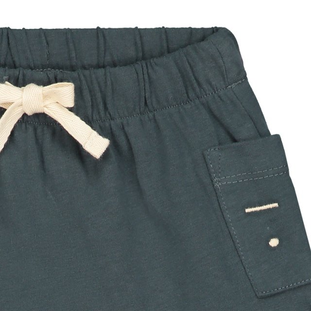 【SALE 30%OFF】Baby Shorts Blue Grey img1