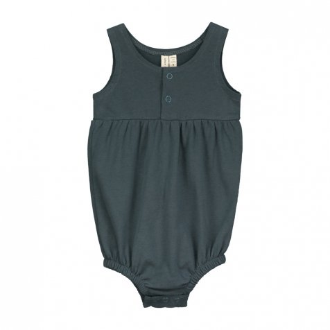 【SALE 30%OFF】Baby Summer Onesie Blue Grey