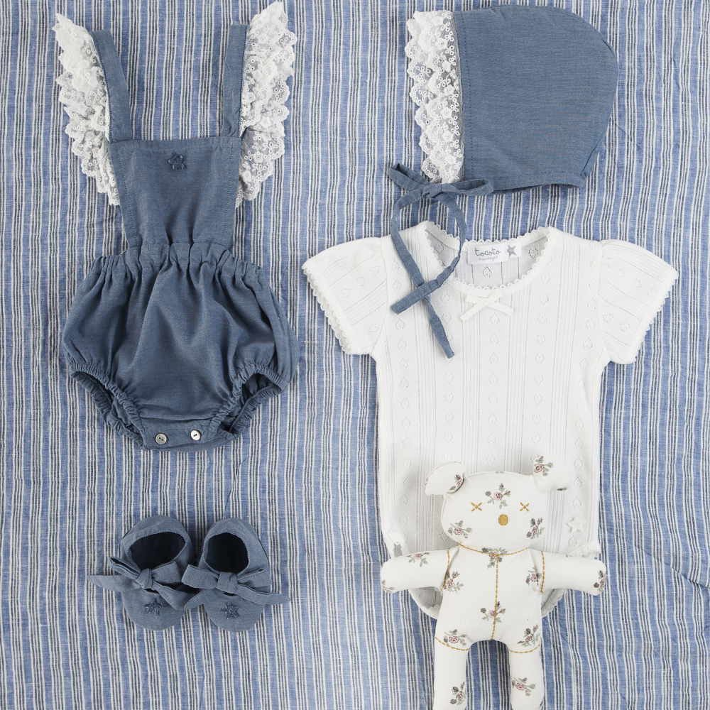 【SALE 30%OFF】SS18. CHAMBRAY BODY LACE img3