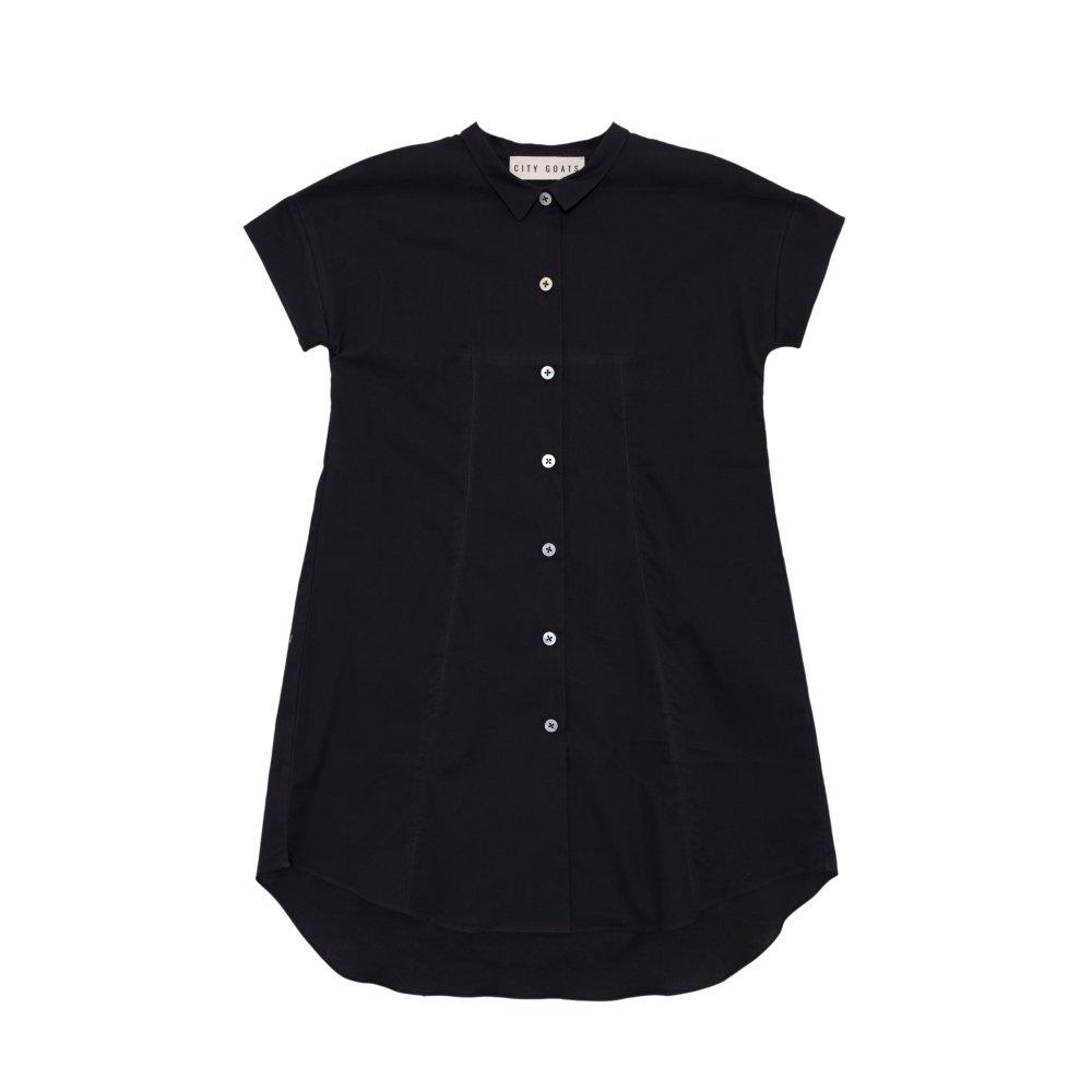 【SALE 30%OFF】Fig Leaf Long Shirt Charcoal img
