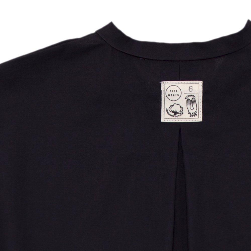 【SALE 30%OFF】Fig Leaf Long Shirt Charcoal img3