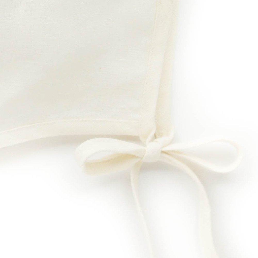 【再入荷】Basics bonnet Ivory Linen img2