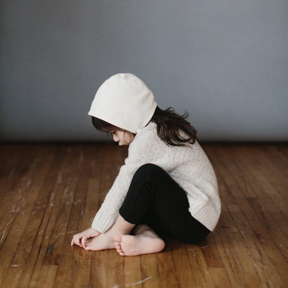 【再入荷】Basics bonnet Ivory Linen img4