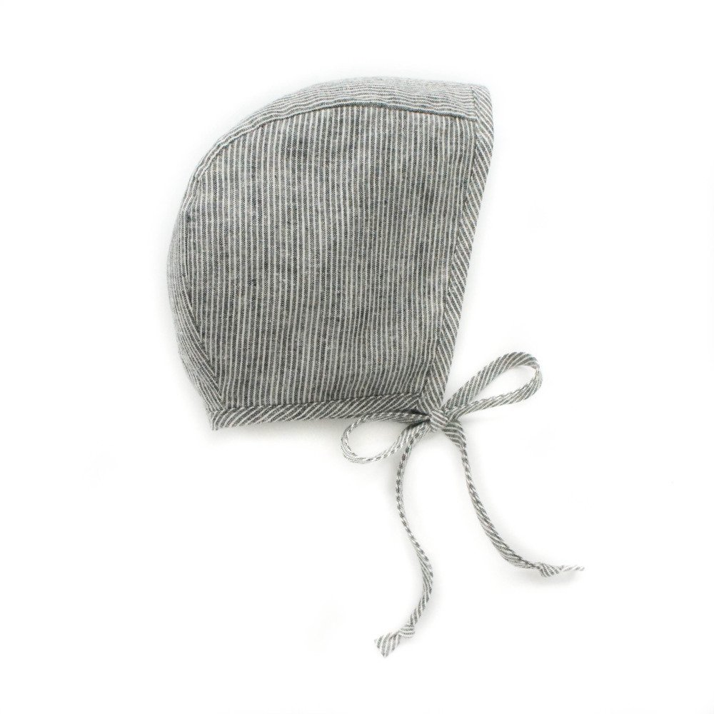 basics bonnet Natural Stripe img