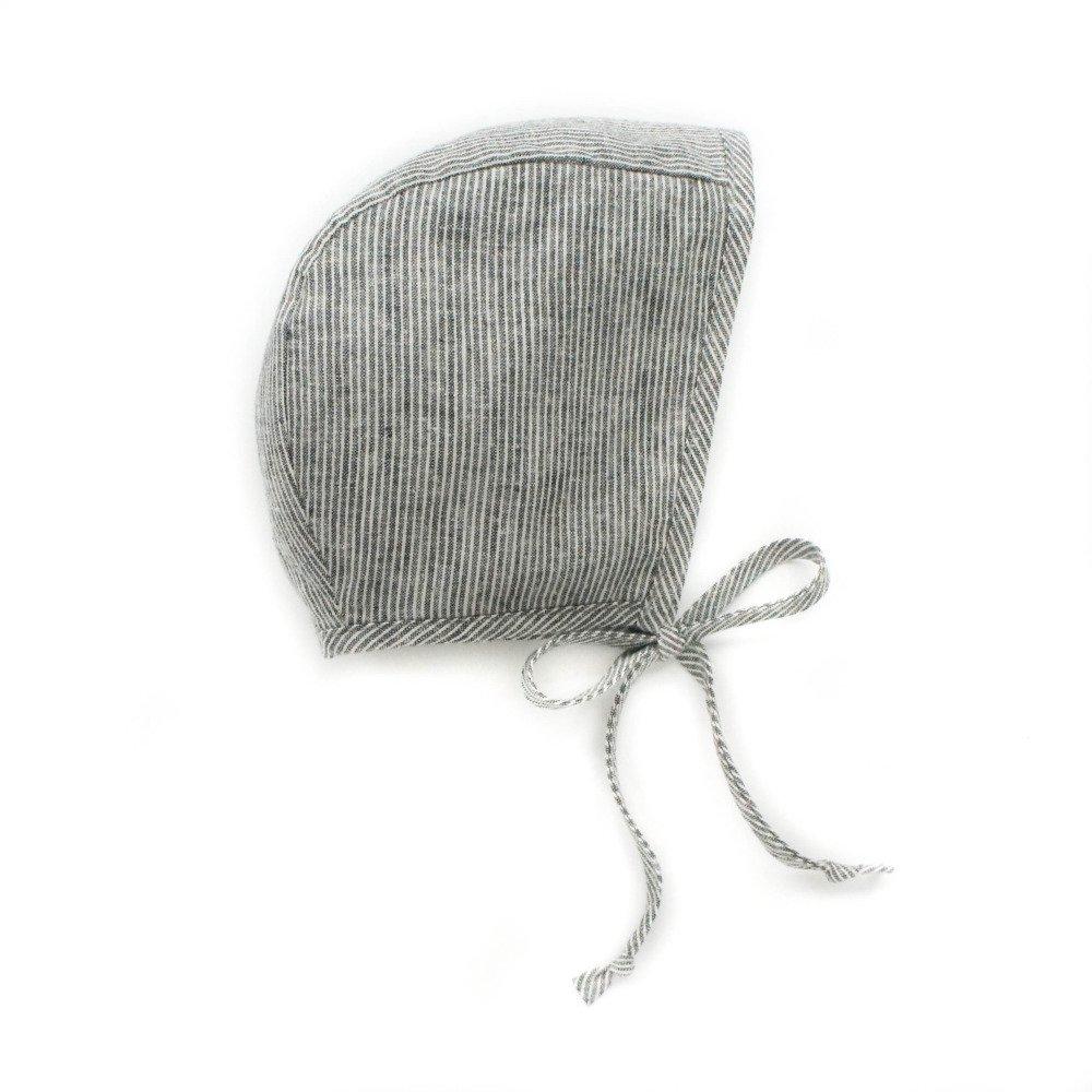 Basics bonnet Natural Stripe img