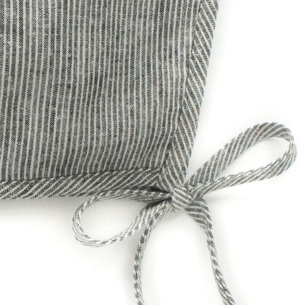 basics bonnet Natural Stripe img1