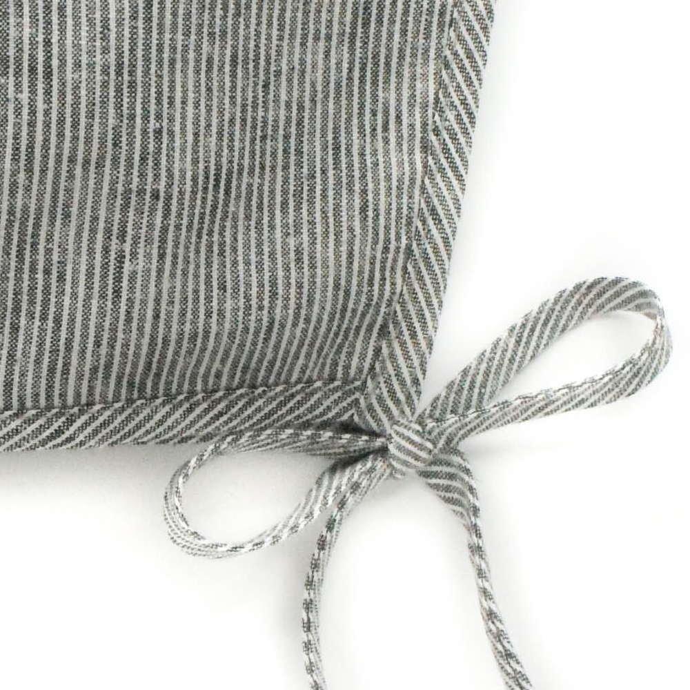 Basics bonnet Natural Stripe img1