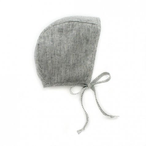 basics bonnet Natural Stripe