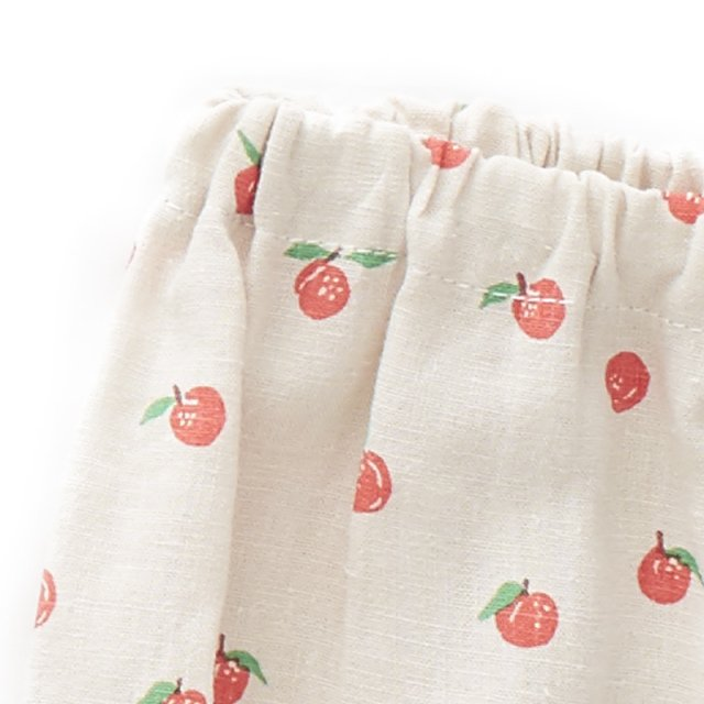 【SALE 30%OFF】Linen Bloomers Beige/Peaches img1