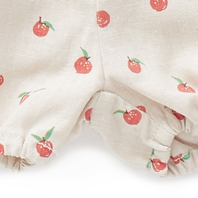 【SALE 30%OFF】Linen Bloomers Beige/Peaches img4